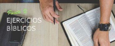 ejercicios biblicos 2