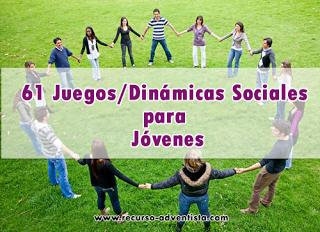 61 Juegos Sociales para Jóvenes