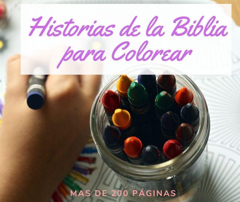Historias De La Biblia Para Colorear Pdf Recursos Biblicos